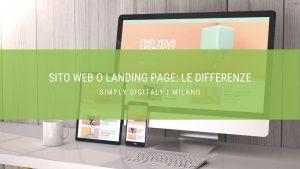 sito web o landing page